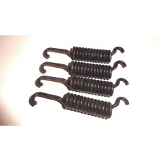 Front brake shoe return springs ,per set of four