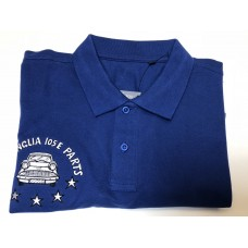 J&B Polo Shirt - Royal Blue - EXTRA LARGE