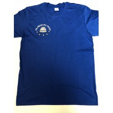 J&B T-Shirt - Royal Blue - LARGE