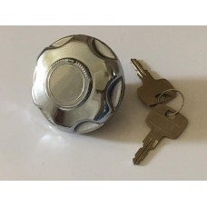 Chrome Petrol Cap - Vented Van & Saloon (Locking)