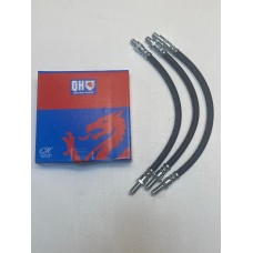 Flexible brake hose set