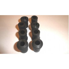 Shackle rubbers for rear springs Sold per set of 8