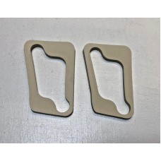 Front Side light lens gasket    Casting to  Body (per pair)    1965 - 1967