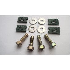 Radiator fixing bolts