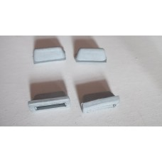 Rear Side Window Grommets GREY (Per 4)