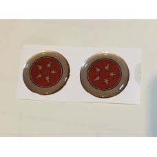 Pillar Badge Self Adhesive (Pair) No Writing
