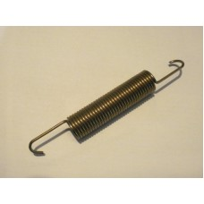 Clutch slave cylinder return spring