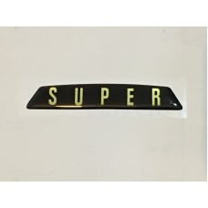 Super Badge Boot Badge insert (self adhesive)